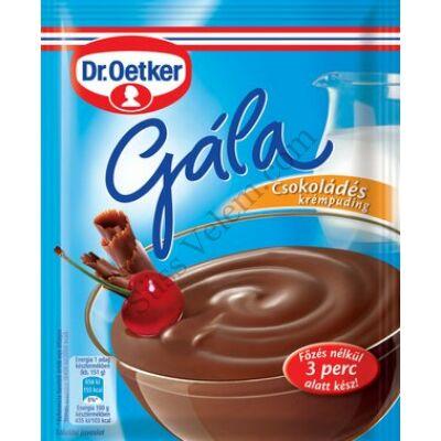 Csokoládé ízű Dr Oetker Gála puding 104g
