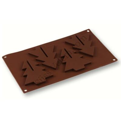 Csokoládé fenyőfa készítő forma