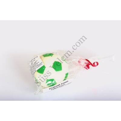 Cukor focilabda zöld
