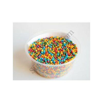 250 g színes cukor-mix gabonagolyó