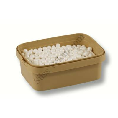 Fehér cukorgyöngy 7 mm 20 dkg
