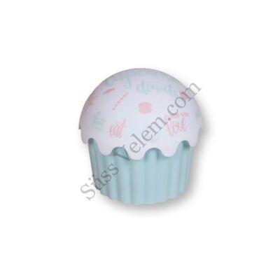 Cupcake alakú közepes méretű tároló doboz