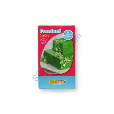 DecoCino 25 dkg zöld fondant massza