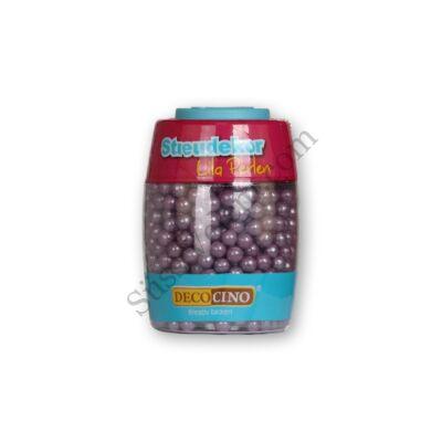 DecoCino gyöngyház lila cukorgyöngy 65 g