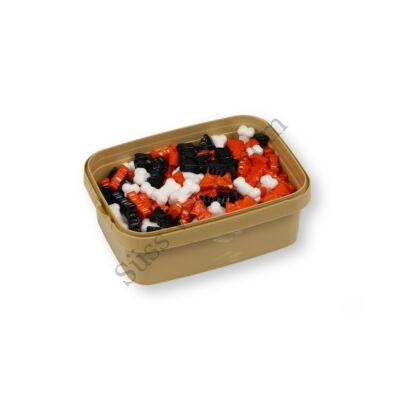 Denevér, csont szellem és sütőtök alakú Halloween cukordísz 200 g