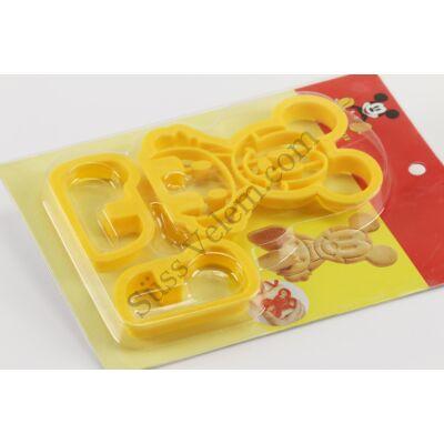 Egeres 3 D süti kiszúró