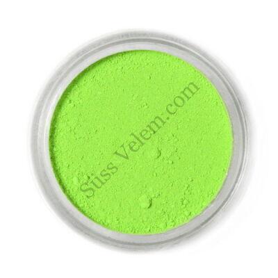Élénkzöld (lime) Fractal ételfesték por felületi festéshez