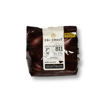 Étcsokoládé pasztilla (korong) 400g Callebaut