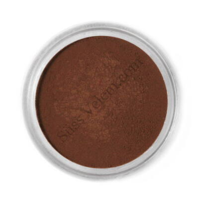 Étcsokoládé barna Fractal ételfesték por felületi festéshez