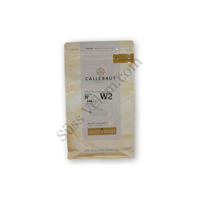 Fehércsokoládé pasztilla 1 kg Callebaut