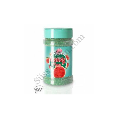 Görögdinnye ízesítésű vattacukor alapanyag 300 g