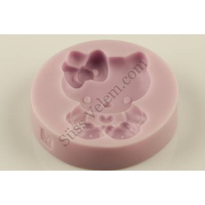 Hello Kitty szilikon fondant forma