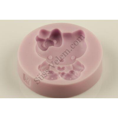 Hello Kitty szilikon fondant forma