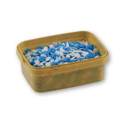 20 dkg kék-fehér hópehely alakú cukorkonfetti