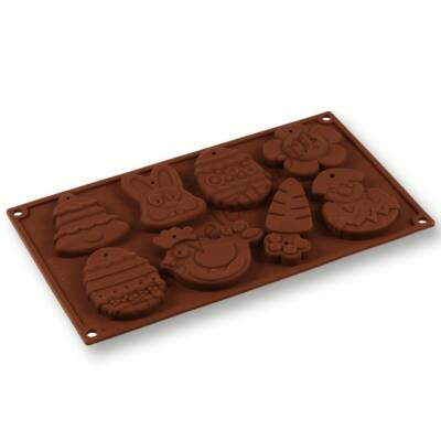Húsvéti szilikon keksz és csokoládé forma