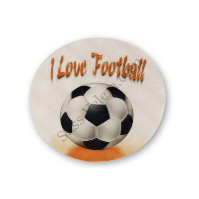 I LOVE FOOTBALL tortaostya 20 cm