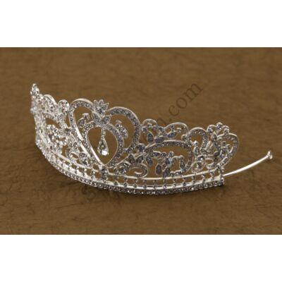 Hercegnő tiara strasszos tortadísz