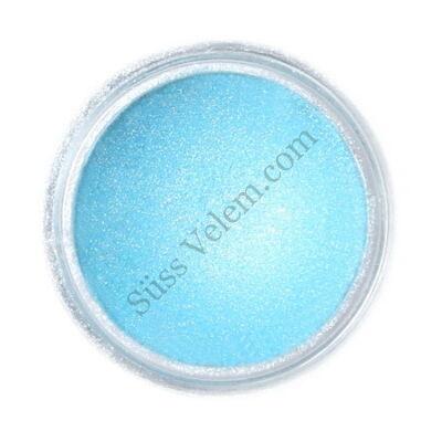 Jégkristály kék Fractal ehető csillámpor