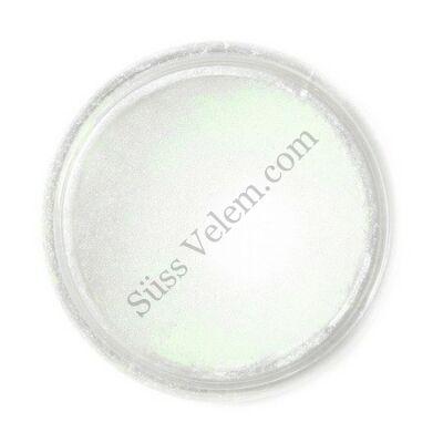 Kagylóhéj zöld Fractal ehető csillámpor