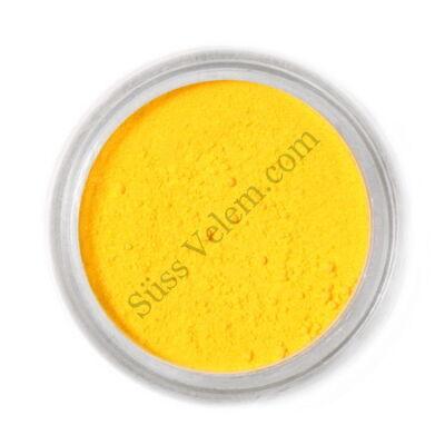 Kanári sárga Fractal ételfesték por felületi festéshez