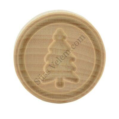 Fenyőfa karácsonyi fa sütipecsét