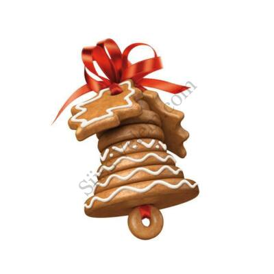 Karácsonyi harang készítő kiszúró készlet Tescoma Delicia