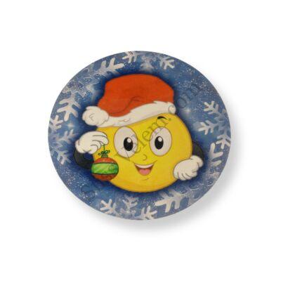 Karácsonyi Smiley tortaostya
