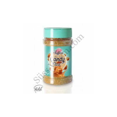 Karamell ízesítésű vattacukor alapanyag 300 g