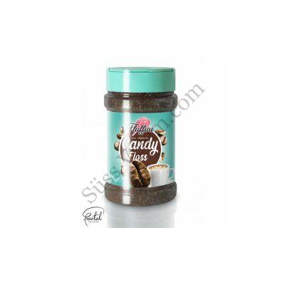 Kávé ízesítésű vattacukor alapanyag 300 g