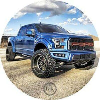 Kék pickup tortaostya