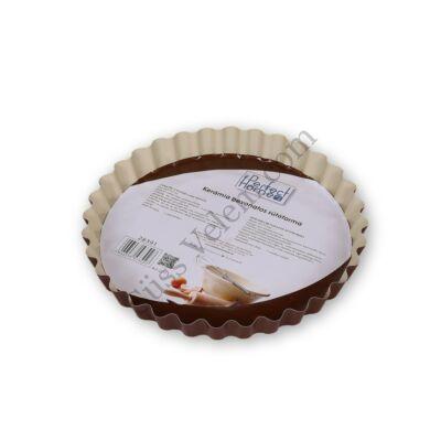 Kerámia bevonatos pite sütőforma