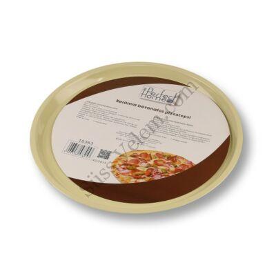 Kerámia bevonatos Pizza sütőforma 33 cm