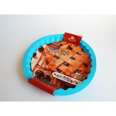 Kerek szilikon pite sütő