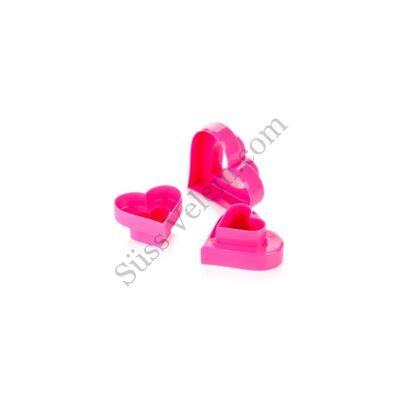 Kétoldalú szív alakú süti kiszúró Tescoma Delicia