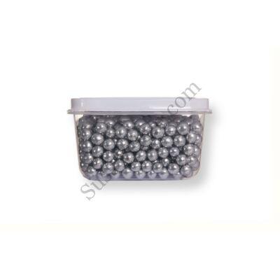 Kis kiszerelésű (40g) ezüst színű cukorgyöngy
