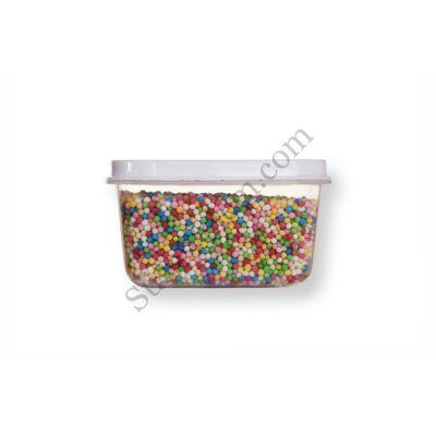 Kis kiszerelésű (50g) színes apró cukorgyöngy
