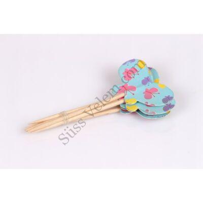 Muffin díszítő pálcika 24 db