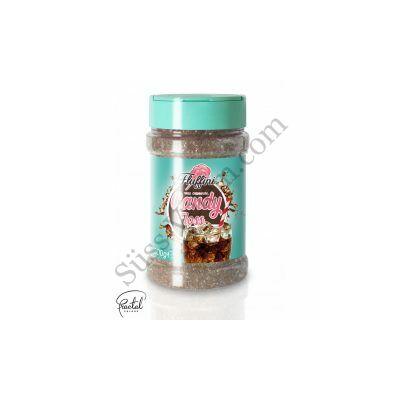 Kóla ízesítésű vattacukor alapanyag 300 g