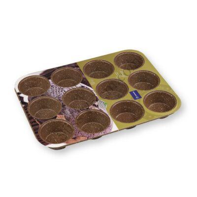 Korkmaz 12 adagos tapadásmentes muffin sütő