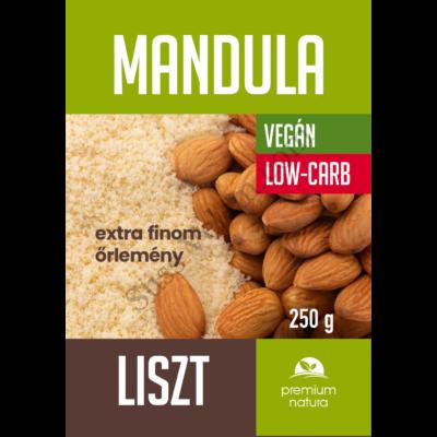250 g Premium Natura mandulaliszt