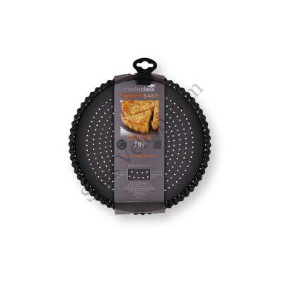 Lyukacsos Kitchen Craft 25 cm-es kivehető aljú piteforma