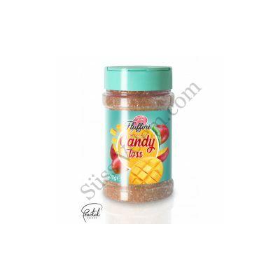 Mangó ízesítésű vattacukor alapanyag 300 g