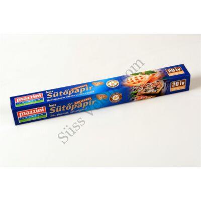 Mazzini szilikonos sütőpapír