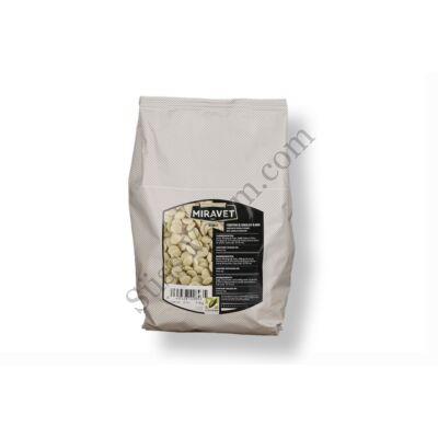 Miravet 1 kg-os fehér csokoládé pasztilla