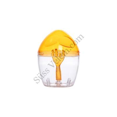 Műanyag tojásfelverő