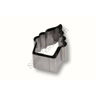 Muffin alakú rozsdamentes 2 részes tálaló gyűrű