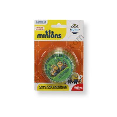 Muffin papír Minions mintás 50 db