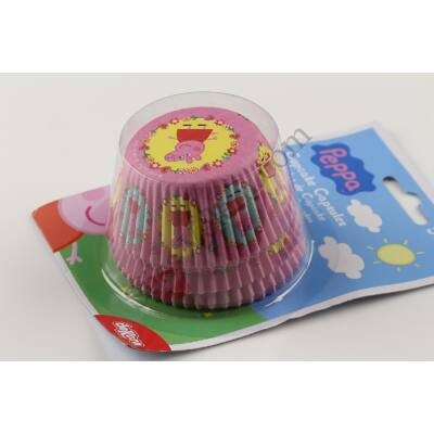 Muffin papír Peppa malac mintás 50 db