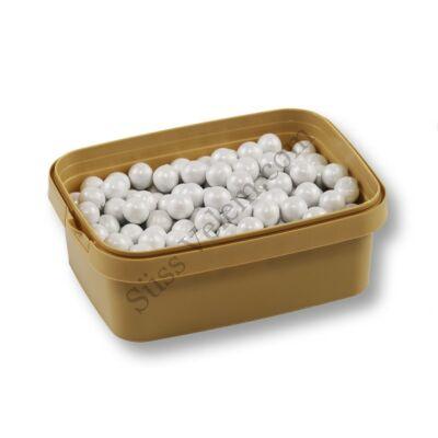 Nagyszemű fehér csokival töltött cukorgyöngy