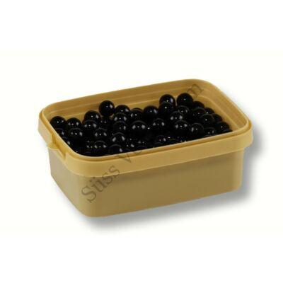 Nagyszemű fekete csokival töltött cukorgyöngy